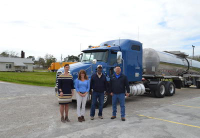 Superior Carriers donates truck to SLCC CDL program